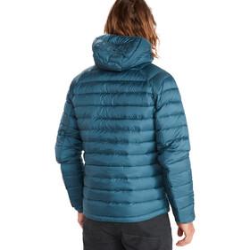 Marmot Highlander Sudadera con capucha Hombre, Azul petróleo